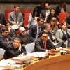 "YB Dato' Sri Reezal Merican Naina Merican delivers a Statement at the United Nations Security Council Open Debate on ""Countering the Narratives and Ideologies of Terrorism,"" on 11 May 2016 in New York. (Photo: Wisma Putra)"